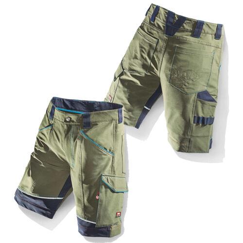 Bullstar Stretchshort FLEXIT oliv Bundhose Bermuda Arbeitsshort Short Workwear