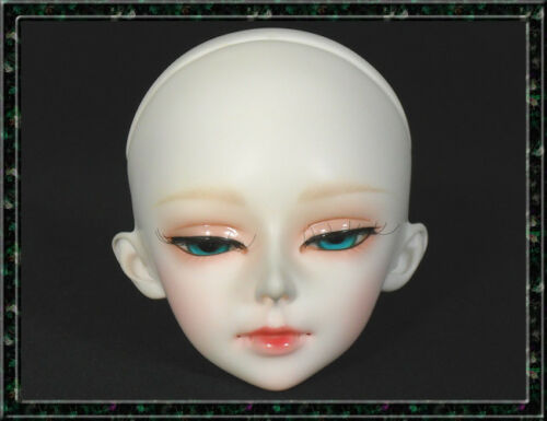 White color 40# For Practice Makeup 1//3 BJD Doll Head Single Head No make up