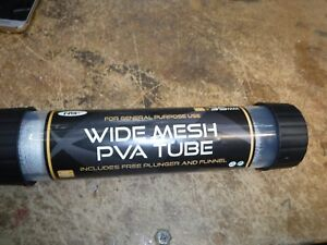 NGT PVA WIDE MESH 7m STOCKING PLUNGER /& TUBE 35MM barbel  nite anglers love it
