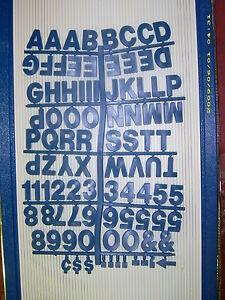 """1 1/2"""" Pepsi Blue Big & Bold Headlinner letters & numbers"""