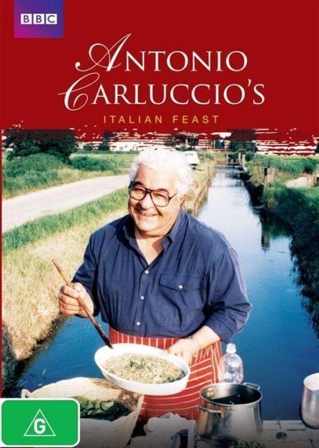 Antonio Carluccio's Italian Feast DVD, Aus Region 4, Fast Free Post BBC, As New