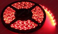 Super Bright Brilliant Red 5Meter LED Strip 300-SMD Interior Door Trunk Cargo