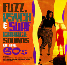Various Artists - Fuzz Psych & Surf: Garage Sounds of the 60's / Various [New CD