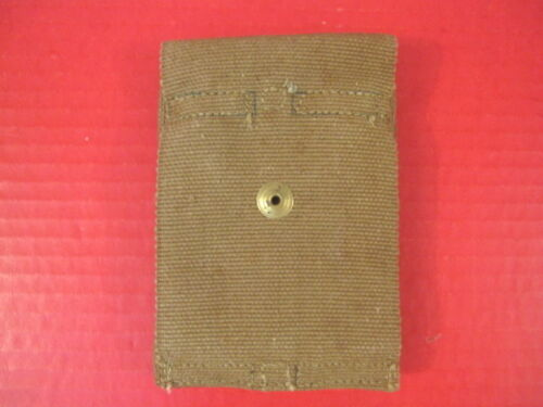 Unissued #3 Dated 1918 WWI US M1910 Dual Magazine Pouch M1911 Marked Mills