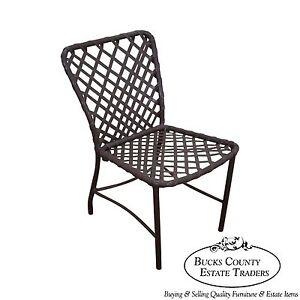 Brown jordan tamiami vintage aluminum vinyl strap patio for Brown jordan tamiami chaise