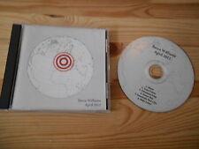 CD Pop Beth Williams - April 2012 (6 Song) Demo PRIVATE PRESS