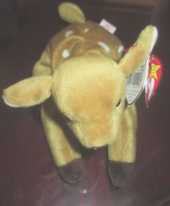 f901ed2d93b Ty Pluffies Bloose The Baby Blue Moose Plush Stuffed Animal 2006 ...