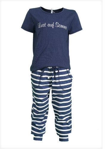 "/%/%/%/%  LOUIS /& LOUISA  /"" Lust auf Sommer /"" Pyjama blau Gr 116 NEU /%/% /%/%"