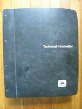 John Deere 4430 4630 Tractor Technical Manual Tm 1172 Original