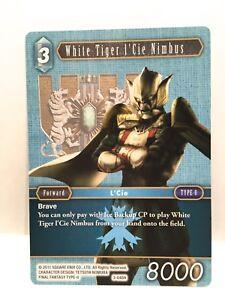 Blanc-Tigre-L-039-Cie-Nimbus-3-046H-Final-Fantasy-Ff-TCG-Opus-III-3-Simple-Carte