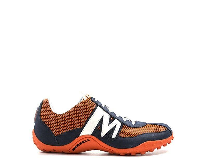 zapatos MERRELL hombres zapatillas trendy  azul Pelle naturale,Tessuto J59817S