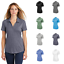 Sport-Tek-Ladies-Tri-Blend-Wicking-Polo-Moisture-Wicking-Comfy-Soft-Top-LST405 thumbnail 1