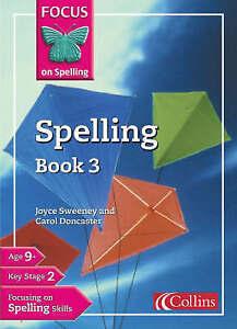 Focus-on-Spelling-Bk-3-Joyce-Sweeney-Carol-Doncaster-Used-Acceptable-Book