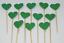 12-Paillettes-Coeur-Cupcake-Toppers-Parti-Decoration-cup-cake-topper-Food-drapeaux miniature 21