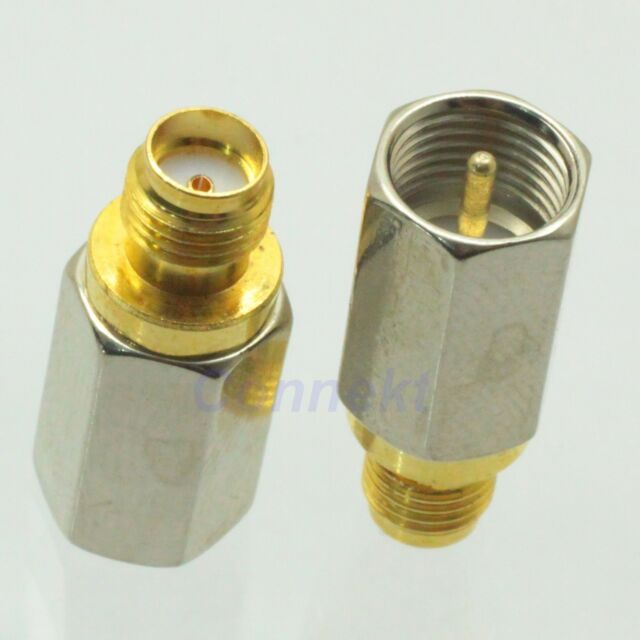 1pce FME male plug to SMA female jack RF coaxial adapter connector