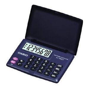 Casio LC 160 V BK Lc-160lv-bk-w Portable pocket calculator 8 digit big display