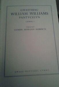 Gweithiau-William-Williams-Pantycelyn-Hughes-G-H-1964-NEW-Welsh-HB-Book