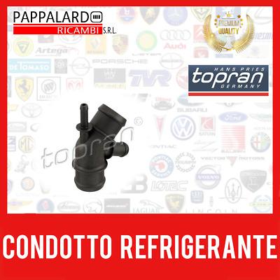 Topran Refrigerante Acqua FLANGIA Flangia Acqua di Raffreddamento Flangia AUDI VW 2938180
