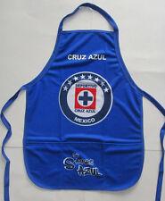 Unisex's Cruz Azul Apron, New Blk Blue White Red Mandil Maquina Del Cruz Azul