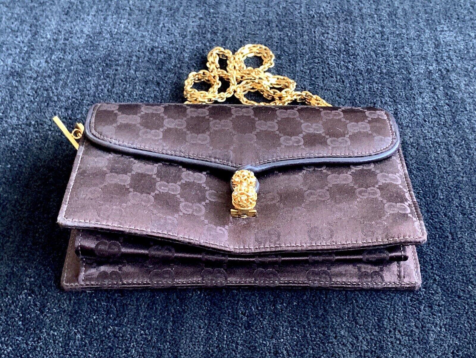 Gucci Vintage Classic Handbag with original box  - image 9