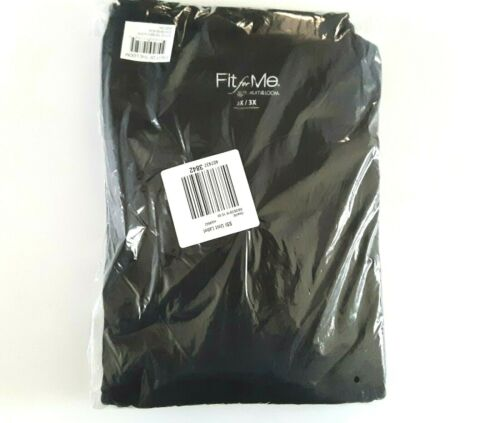 Fit for Me Fruit of the Loom Womens Thermal Fleece Underwear Set Stretch Black