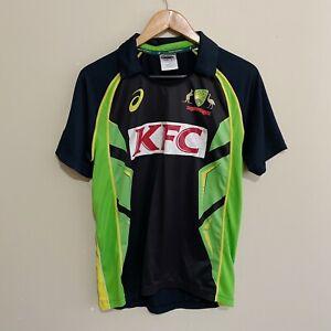 Australia-Cricket-ASICS-2016-2017-T20-Jersey-Polo-Shirt-Mens-Small