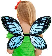 Feenstaub Schmetterlingsflügel blau für Kinder NEU - Zubehör Accessoire Karneval