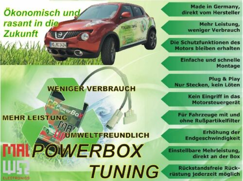 Chiptuningbox passend für Ford Transit Connect 1.8 TdCi 75 PS Serie