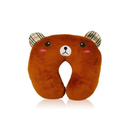 Pillow U Plush Shaped Neck Travel Toy Rest Catoon Head Doll Cushion Stuffed Cute