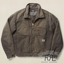 $590 RRL Ralph Lauren 1930s Full Lined Cotton JASPÉ WORK JACKET COAT-MEN- XL