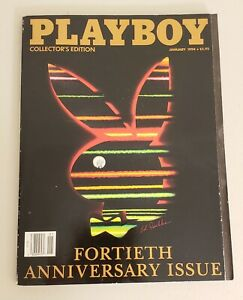 JANUARY-1994-PLAYBOY-MAGAZINE-COLLECTOR-039-S-EDITION-FORTIETH-ANNIVERSARY-ISSUE