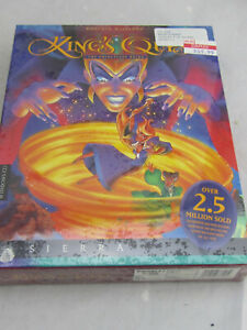 NEW - King's Quest VII The Princeless Bride (PC Game,1994) Big Box Sealed