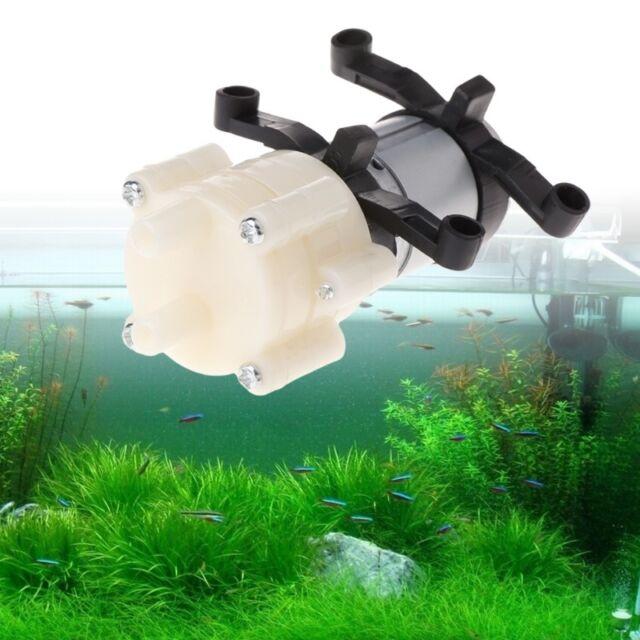 DC6-12V R385 Fish Tank Aquarium Round Water Air DC Diaphragm Pumps Accessories
