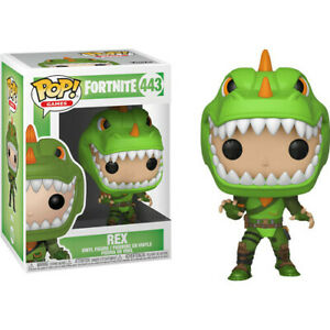 Fortnite Rex Pop! Style Vinyl Collectible Toy Figure New in Window-Display Box