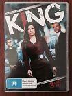 King: Season 1 DVD (3 Disc Set) *Region 4 *Free Postage *Disc's VGC
