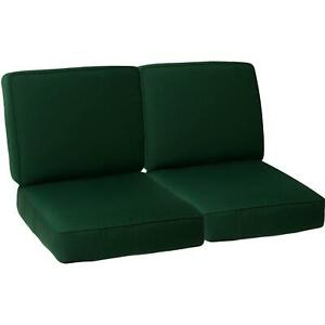 Details About Sunbrella Deluxe Double Piped Replacement Loveseat Cushion 42w X 24d 22 Colors