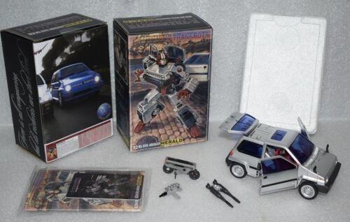 NEW X-TRANSBOTS Transformers MX-17H MX-XVII-H Herald MP Cross cut In Stock
