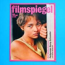 DDR Filmspiegel 19/1988 Romy Schneider Maurice Chevalier Ullrich Thein