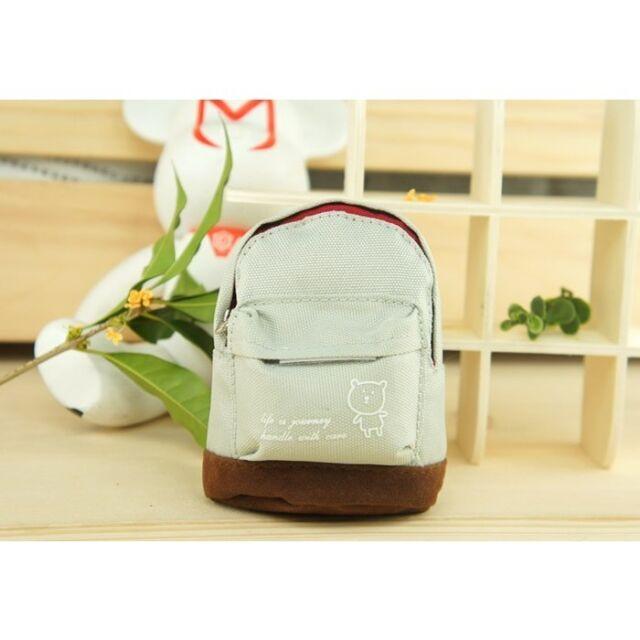 New Women Mini Backpack Flower Coin Bag Wallet Hand Pouch Purse Key Holder