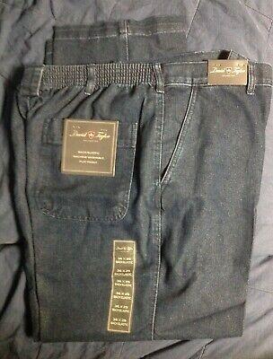 David Taylor Collection Jeans//Khakis  Elastic Back Cotton Blend NWT