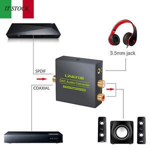 Convertitore-di-fibra-coassiale-digitale-DAC-audio-per-HDTV-DVD-Sky-3-5-mm-jack
