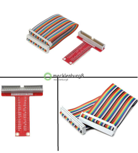 40Pin GPIO Cable for Raspberry Pi 2、B+ T-Shaped Breakout Expansion Board