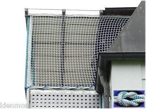 Schutznetz Ballfangnetz Kinderschutznetz 2 Meter Bahnbreite Weiss