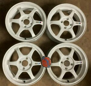 Rare Original SSR Type C Wheels 15x4H 5.5j