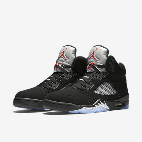 Og Métallisé Noir Nike V Air Argent Jordan 003 13 Taille 5 Retro 845035 qwaqXHUR