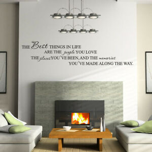 AU-IC-FP-The-Best-Things-Wall-Sticker-Living-Room-Mural-Decal-Home-Art-Decor