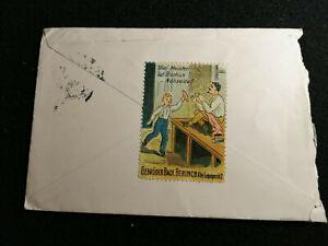 Deutsches Reich - Feldpost Brief Stendal - Berlin Sondermarke