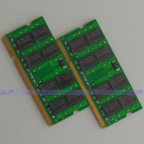 4GB 2X2GB DDR2 800 800Mhz PC2 6400 So-dimm Speicher Non-ECC Laptop Ram Notebook