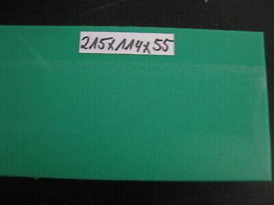75x40x36 PE Kunstoffblock Grün