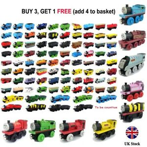 The Tank Engine Take-n-Play Engines & Carriages Magnetic Wooden Trains Kids Toys